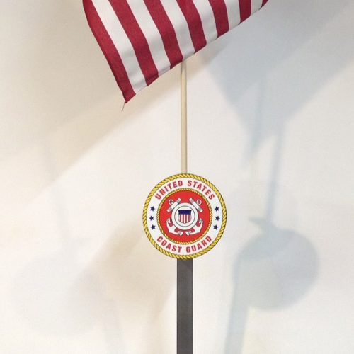 Military Flag Holder US Coast Guard