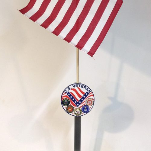 Military Flag Holder US Veteran